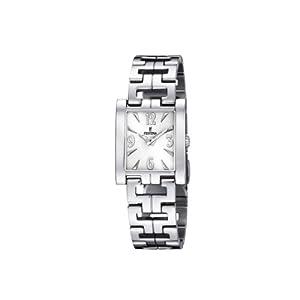 Reloj de mujer FESTINA F16364/1 de cuarzo, correa de acero inoxidable color plata de FESTINA