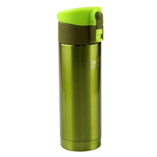Captain Stagg (CAPTAIN STAG) Sea Esprit slim one-touch personal bottle 250 lime green M-5456 by CAPTAIN STAG (captain stag) Lime Green Bottle