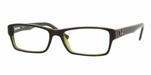 Ray-Ban Korrektionsbrille (RX5169), Schwarz (Negro), 52 mm Lens/16 mm Bridge/140 mm Temple