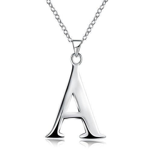 (Cactus Geometrische Unisex Kupfer Kette Anhänger Halskette Halskette Frauen Fashion Trend Halskette Buchstaben, Silber-)