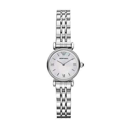 Emporio Armani Analog Off-White Dial Women's Watch - AR1763