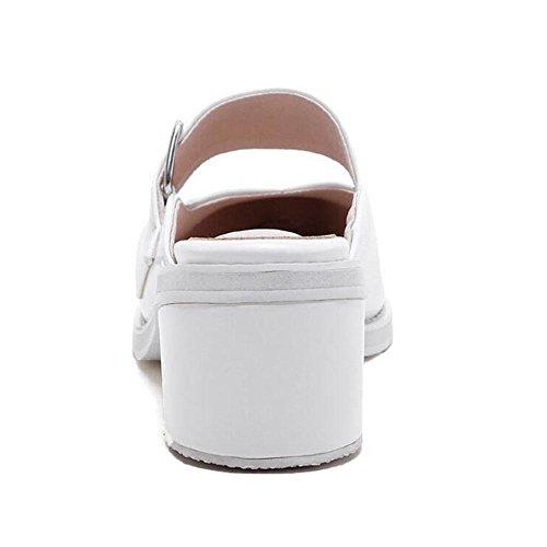 Chaussure à talons hauts white