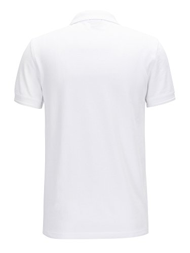 BOSS Orange Herren Poloshirt Prime Weiß (100)