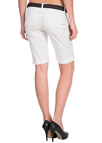Damen Bermuda Short White
