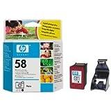 Hp No. 58 Tri-Colour Inkjet Print Cartridges (C6658Ae)