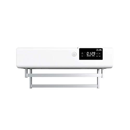 LXDDP Elektrischer Handtuchwärmer, UV-Antivirensoftware Intelligentes Trocknen An der Wand montiert Feuchtigkeitsbeständige Entfeuchtung Stummschaltung Einfach zu bedienen Geeignet für Badezimmer