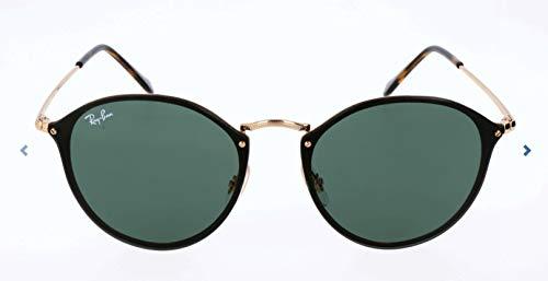 RAYBAN JUNIOR Unisex-Erwachsene Sonnenbrille Blaze Round Arista/Green, 59