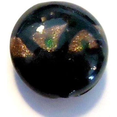 10x per lampade rotondo perline di vetro, Perle A4301/10–20mm