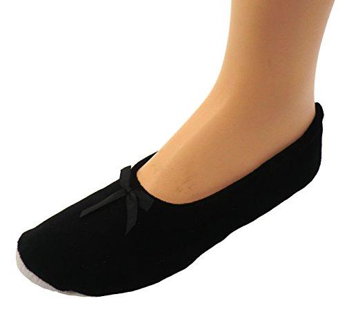 Ballerines Pour Femmes Chaussons Chaussure De Ballet Noir