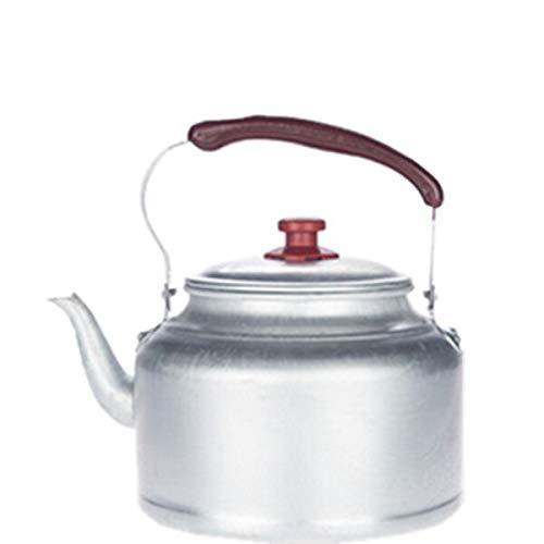 fxwl Wasserkessel Traditionelle Alte Verdickung Reines Aluminium Wasserkocher Kohleherd Gasherd Haushalt Outdoor Tee Kaffeekanne Teekanne 10l