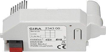 Gira Modul f. Rauchwarnmelder 234300 KNX Dual/VDs KNX/EIB System Bussystem-Zubehör 4010337013518