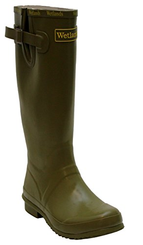 Womens Ladies Wetlands Adjustable Calf Snow Rain Mud Festival Waterproof Wellington Boots...