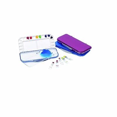 MIJELLO Fusion18 BLUE Farbmischpalette Aquarell (18Farbfächer) Watercolor Painting Palette von MIJELLO bei TapetenShop