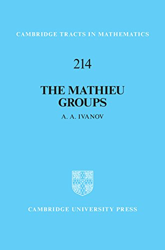 The Mathieu Groups (Cambridge Tracts in Mathematics)
