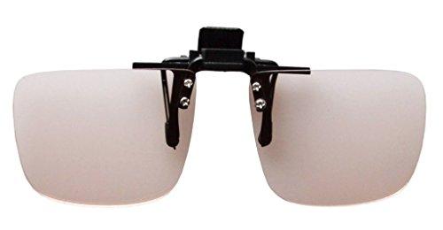 Eyekepper Flip-up-Clip-Amber Getönte Linsen Computer Brillen Anti-Blendung, Anti Blue Rays Lesung Brillen Leser +2.00