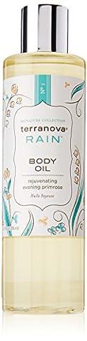Terranova Rain Body Oil with Evening Primrose Oil 8.7 fl oz Bottle by TerraNova