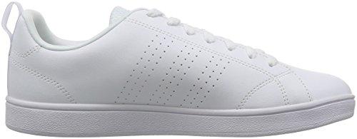 White Bianco adidas White White Vs footwear Footwear Clean Uomo Advantage Sneaker footwear Xzwq7xUHz