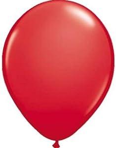 Folat 08086 - Globos (100 unidades), color rojo