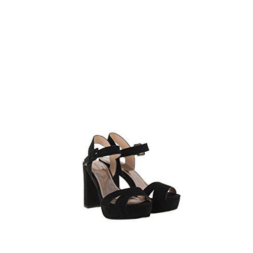 Parfois - Chaussures Sandales Grand Talon Camel - Femmes Noir