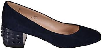 Tod's Mujer XXW20A0X460HR0U824 Azul Gamuza Zapatos Altos