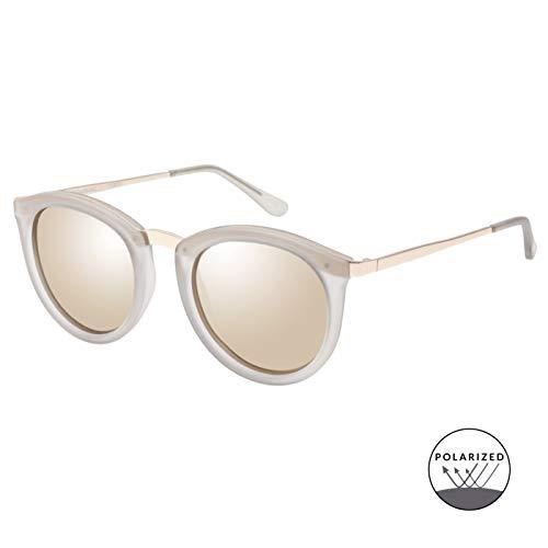 Le Specs Damen Sonnenbrille No Smirking Mist Matte
