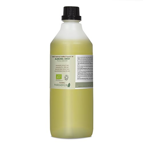 Naissance Almendras Dulces BIO - Aceite Vegetal Prensado en Frío 100% Puro - Certificado Ecológico - 1Litro
