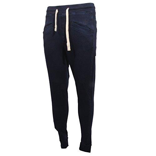 B0825 pantalone tuta uomo G-STAR RAW INDIGO JERSEY gym trousers men [S]