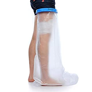 Aozzy Leg Cast Cover,Leg Cast Protector Keep Bandage Dry for Shower, Watertight Cast Bag for Wound Foot(Adult Long Leg)