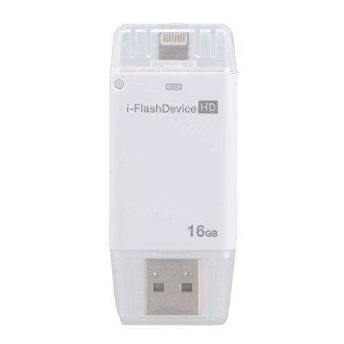 Speicher-Stick mit 16GB Kapazität USB Stick für iPhone 5/5S/5C/6/6S iPad Air/Mini iPod Touch