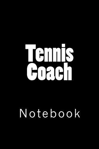 Tennis Coach: Notebook por Wild Pages Press
