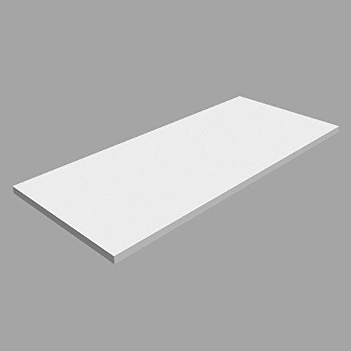 Laminierte Regale (Laminierte Regale, Regalboden, Regal, wandregal LSS Weiss 800x350)