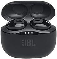 JBL T120TWSBLK True Wireless In-Ear Headphones, Black - (Pack of 1)