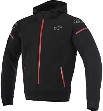 Moto Chaqueta Alpinestars Sector Tech Hoodie negro/rojo