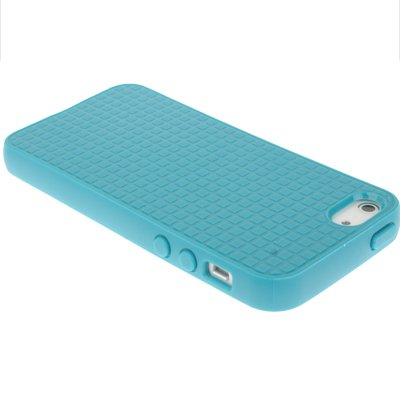 IPhone 5/5S coque de protection en silicone bleu clair en px-hD-style par «-original tHESMARTGUARD-