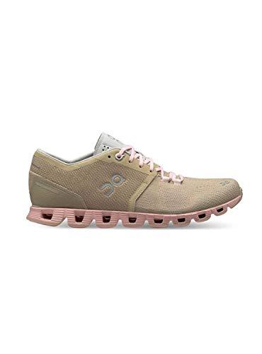 Zapatillas On Running Cloud X Sand Rose Mujer 37 marrón