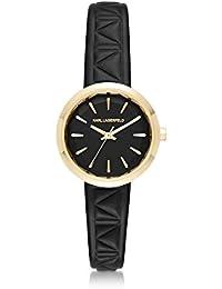 Karl Lagerfeld Damen KL1610 Schwarz Stahl Uhr
