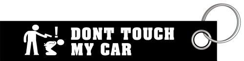 Dont touch my Car Schlüsselanhänger Schlüsselband Keyholder Lanyard (Audi Schlüsselanhänger Lanyard)