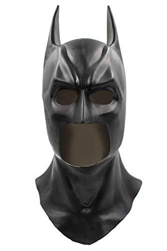 MingoTor Offiziersbursche The Dark Knight Rises Full Batman Latex Maske Cosplay (Maske Knight Batman Dark)
