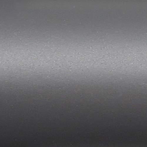 TipTopCarbon Möbelfolie Dunkel-Grau Matt Klebefolie 2m x 60cm Selbstklebende Plotterfolie Matte