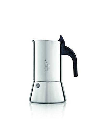 Bialetti Venus 2 Tassen Espressokocher Edelstahl Espresso Maker-3 Cup