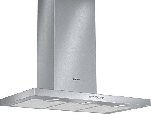 Bosch DWB097A50 Serie 4 Wandhaube / 90 cm / Wahlweise Abluft- oder Umluftbetrieb / EcoSilenceDrive / edelstahl