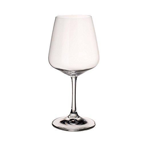 Villeroy & Boch Ovid Rotweingläser, 4er-Set, 590 ml, Kristallglas, Klar Boch Bouquet