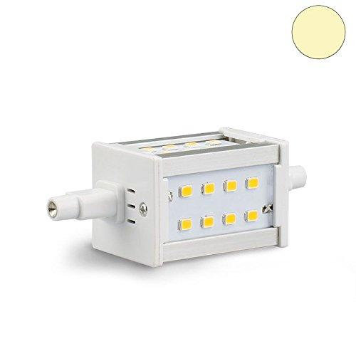 Isolicht R7s SLIM LED Leuchten Retro R7s LED Stab SLIM, 5W, 24SMD, L: 78mm, 2700K warmweiss