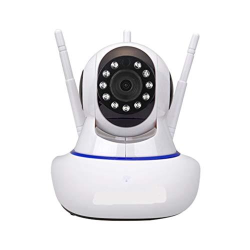 Booding Cámara IP 1080P, Cámara Vigilancia WiFi Interior Inalámbrico, con Micrófono y...