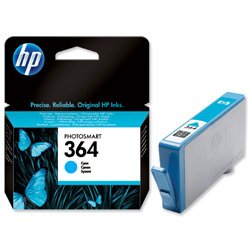 Brand New. Hewlett Packard [HP] No. 364 Inkjet Cartridge Page Yield 300pp Cyan [for D5460] Ref CB318EE
