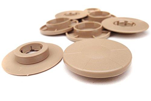 kh Teile Fußmatten Befestigung (4-teilig, beige ) / Automatten Halter Clips