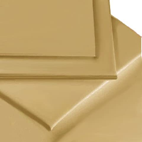Linens Limited - Cubre canapé para cama individual (90 x 190 cm, polialgodón de percal, 180 hilos), color