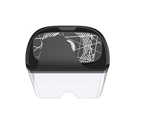 IOIOA AR Virtual Reality Brille, Virtual Reality AR Brille 4K Cinema VR Game Headset, angepasst an EIN 4,5-6,0 Zoll Smartphone - 525 Brillen