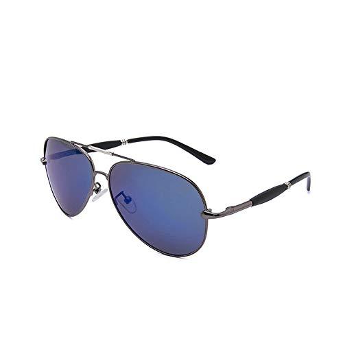 Yiph-Sunglass Sonnenbrillen Mode Erwachsene Rahmen Polarisierte Sonnenschirm Sommer Strand Urlaub Angeln Wandern UV-Schutz Komfortable Brillen Sonnenbrillen (Farbe : One Color, Größe : Free)