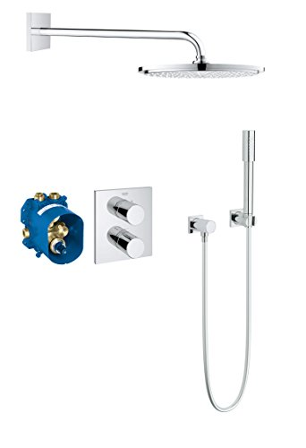 Preisvergleich Produktbild GROHE Grohtherm 3000 Cosmopolitan   Brause- und Duschsysteme - Duschgarnitur   mit Umsteller   34627000